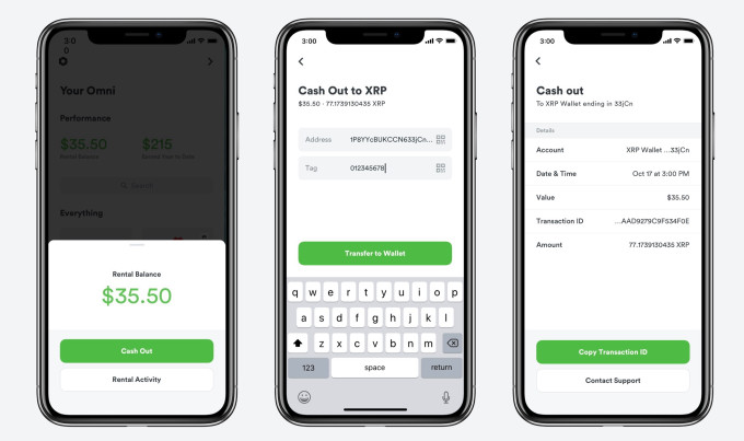 After raising $25M in XRP, Omni lets you earn it renting stuff out