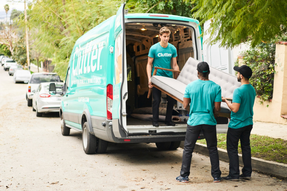 Clutter has picked up Omni's storage business; Omni to focus on rentals