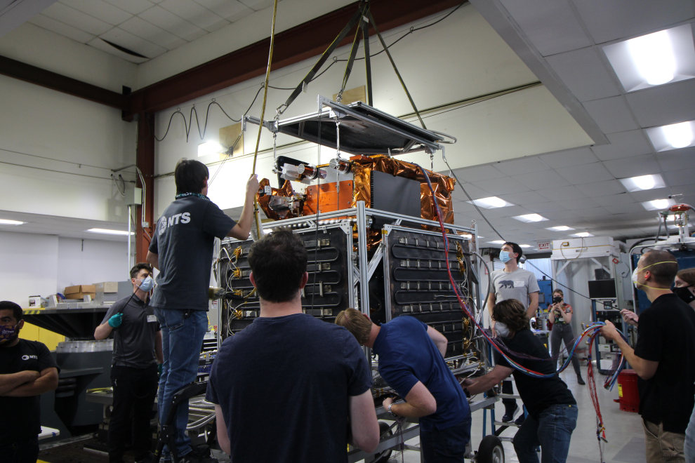 Astranis reaches key milestone with MicroGEO communication satellite, aims for service to begin next summer