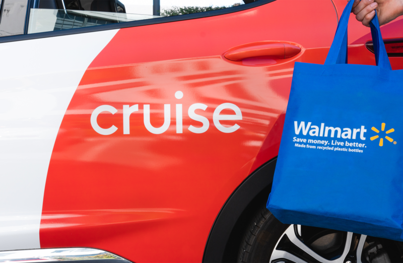 Walmart invests in self-driving startup Cruise