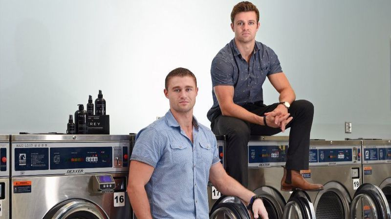 Anne Arundel natives Leif Frey and Erin Robert Frey create a natural laundry detergent